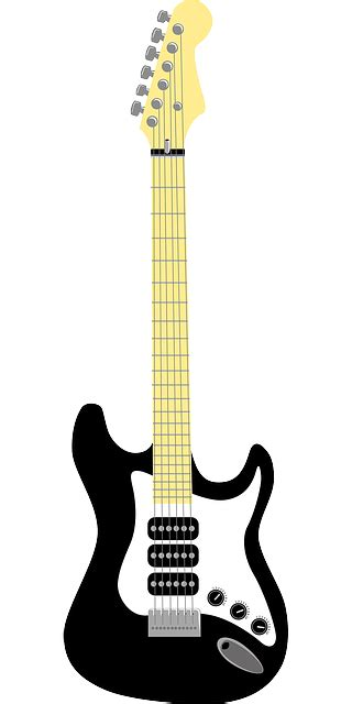 Elektrica Panda White guitar outline clipart panda free clipart images