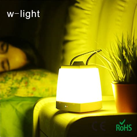 small night light energy saving led charge small night light bedroom bedside