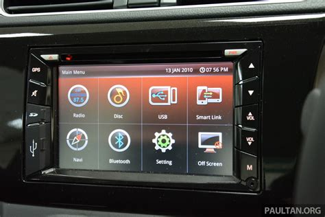 perodua bezza sedan toyota etios rival revealed malaysia perodua bezza interior infotainment system indian autos blog