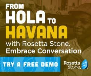 Rosetta Stone Trial   the free rosetta stone trial is available once more