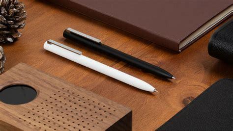 Xiaomi Mi Jia Metal Signature Pen Pulpen Original original xiaomi mijia roller pen 120 degree rotation 0 5mm rolling pen shopping on