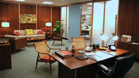 unnamed company mid century mad men style office office snapshots mid century modern is making a comeback in office design