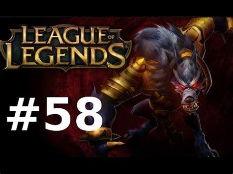 League Of Legend 58 league of legends let s play lol part 58 doppelwolf