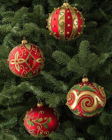 glass ornaments australia decorated glass ornament set balsam hill australia