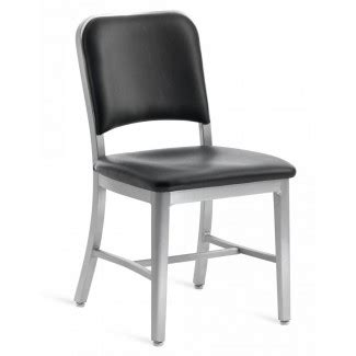 emeco navy upholstered chair emeco chairs stools and tables gr shop canada