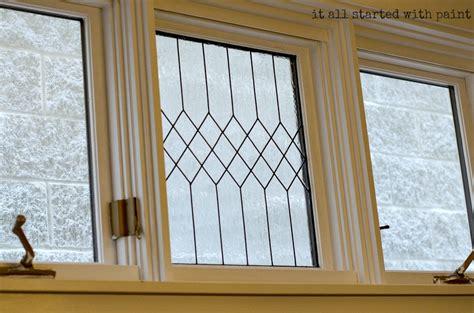 faux window painting faux leaded glass window tutorial