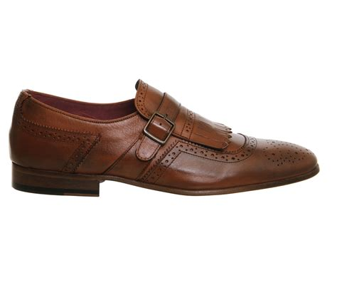 Up To 70 At Office Poste by Poste Fringe Single Monk Leather Smart