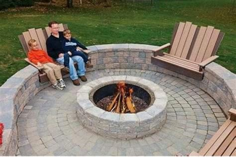 In Ground Firepit 25 Best Ideas About In Ground Pit On Pavers Cost Grass Pavers And Backyards