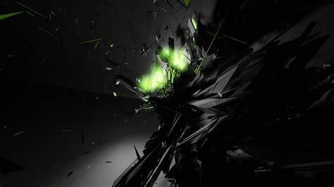 computer wallpaper abstract black green wallpaper 850609