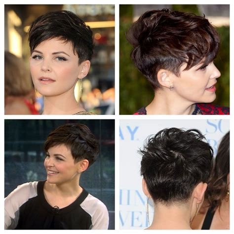 pinning back a pixie 30 pics gennifer goodwin cute pixie hairstyle you should