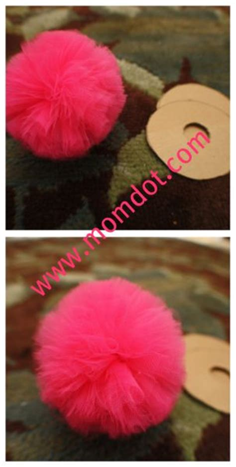 How To Make Tulle Pom Pom Decorations by How To Make A Tulle Pom Pom Toys Tulle Poms And
