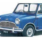 Austin Mini Cooper S Car Art Print