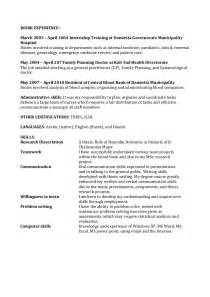 Biomedical Researcher Sle Resume by Abeer Cv Biomedical Science