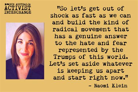 Naomi Meme - march australia activist interchange