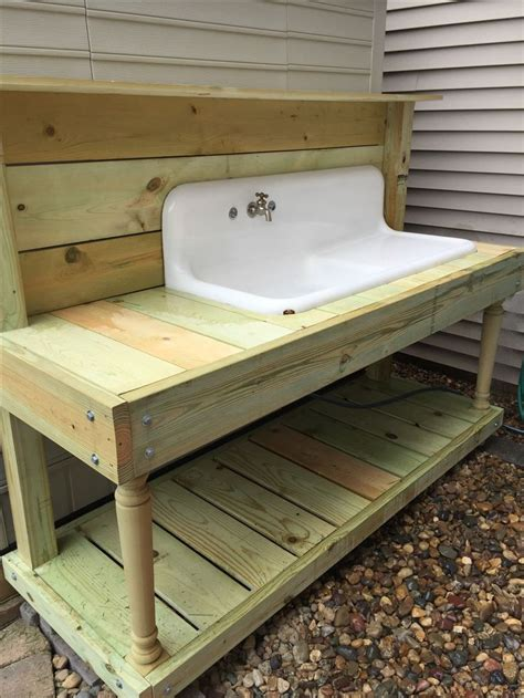 potting bench with sink best 25 garden sink ideas on outdoor garden