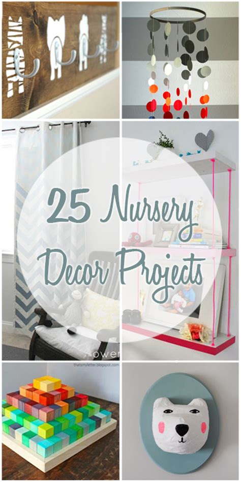 diy baby crafts nursery remodelaholic 25 nursery decor projects