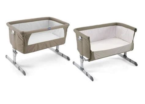 Beside Bed Crib by Chicco Next To Me Bedside Crib Brown Monmartt