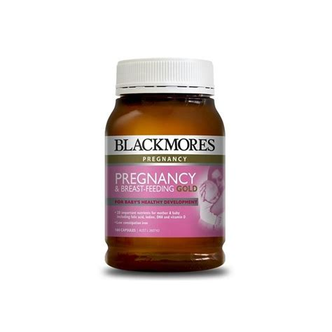 Blackmores Pregnancy And Breast Feeding Gold 120 Kapsul 2 pregnancy breast feeding gold blackmores quantum