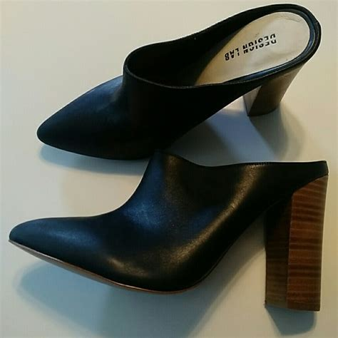 design lab shoes 65 off design lab shoes design lab heeled mules clogs