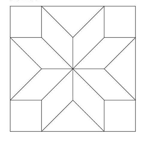 lemoyne star block outline