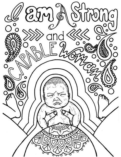 i am my affirmations a coloring book to empower all the world books 17 beste afbeeldingen birth pregnancy coloring pages