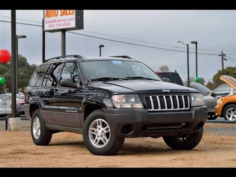 Jeep Grand Laredo Vs Limited 2004 Jeep Grand Laredo Review