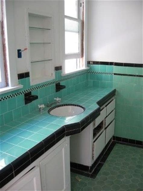deco bathroom floor tiles deco tile bathroom jade turquoise black deco