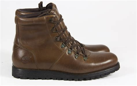 mens timberland casual leather lace treker winter ankle