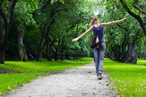 i walk through the garden alone
