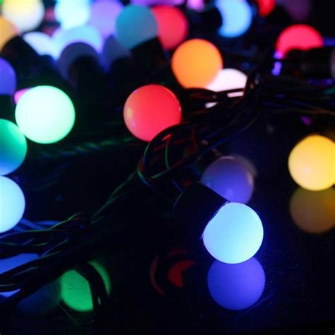10 metre colour changing rgb led string lights with
