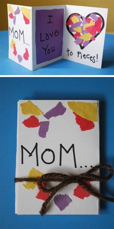 mothers day cards to make in school 16 easy s day cards for to make scrap booking