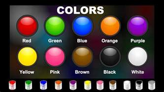 with colors in the title colors for children learn colors names for