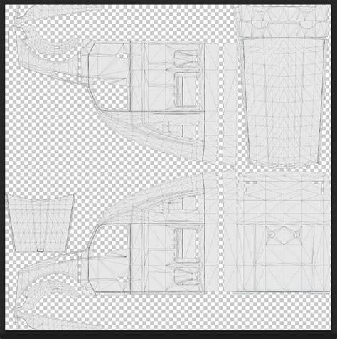 truck template template for scs trucks mod american truck simulator mod