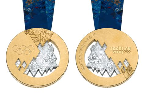 gold medal winter books sochi 2014 unveils olympic medals olympic news