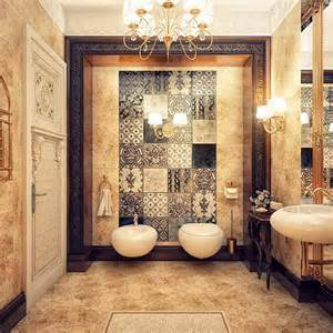 Modern Classic Bathroom Make A Relaxing Bath Special With An Arabic Bathroom Design