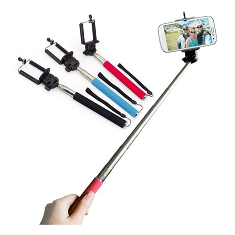 Monopod Selfie extendable handheld selfie stick monopod clip for samsung iphone htc