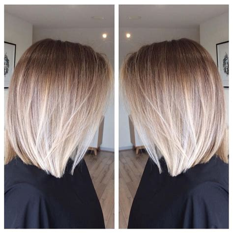 image result for blunt bangs and balayage coiffure coiffures m 232 ches et beaut 233 image result for balayage ombre bob стрижки coiffures cheveux et les cheveux
