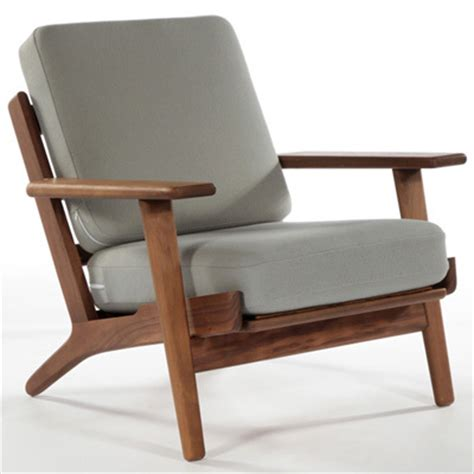 Low Arm Chair Design Ideas Hans Wegner Armchair Living Room Chair Modern Design Wood Frame Fabric Cushion Solid Wood