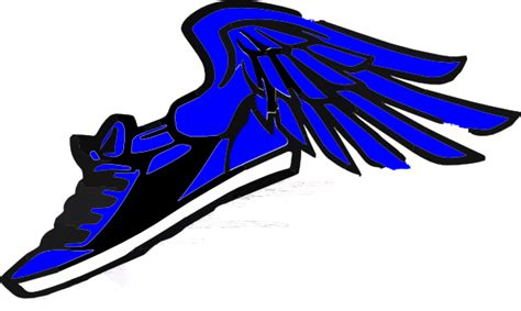 running shoes with wings clipart running shoe with wings clip at clker vector