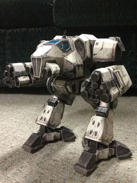 Papercraft Mech - mechwarrior supernova papercraft mechs