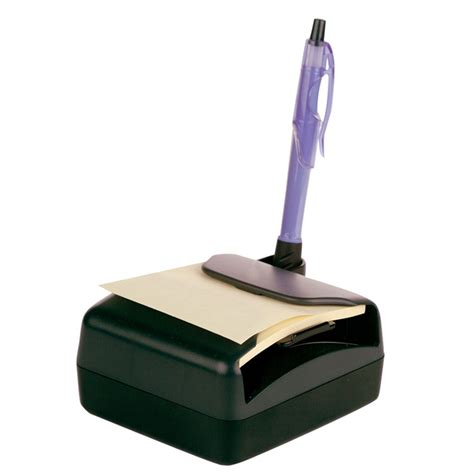 Desk Dispenser by Desk Pop Up Note Dispenser For 3 Quot X 3 Quot Notes Black Charcoal