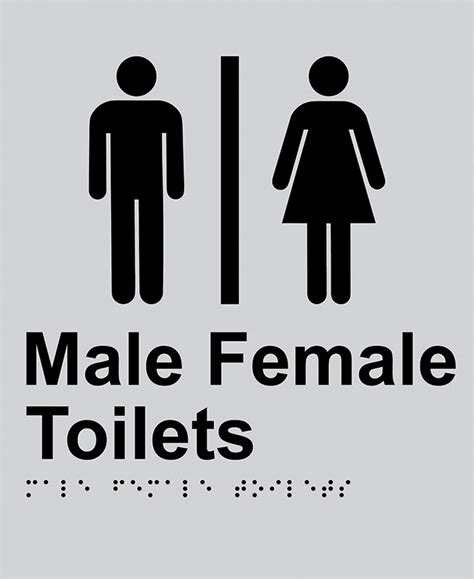male and female bathroom signs braille sign male female toilet seton safety signs seton australia