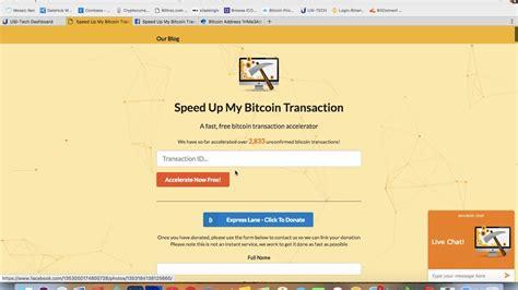 bitcoin transaction tutorial speed up my bitcoin transaction tutorial youtube