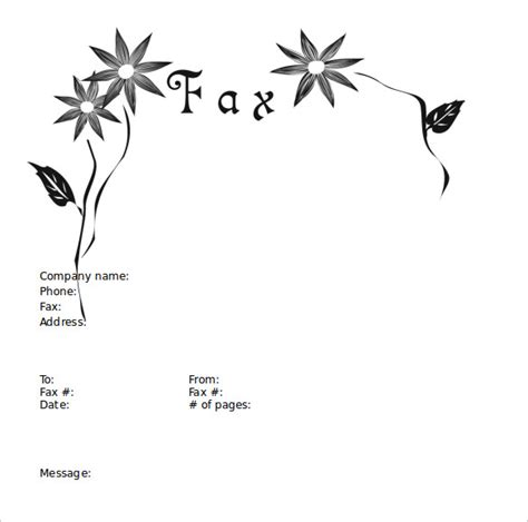 cute printable fax cover sheets sle fax cover sheet 27 free documents in pdf word