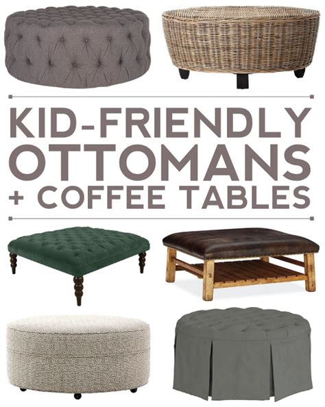 Kid Friendly Coffee Table Distance Loving