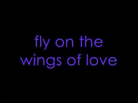 love in song wings youtube dj sammy fly on the wings of love with lyrics youtube