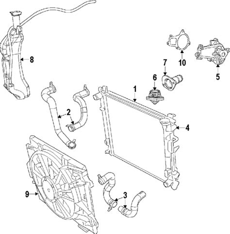 chrysler town and country parts diagram 2009 chrysler town and country parts