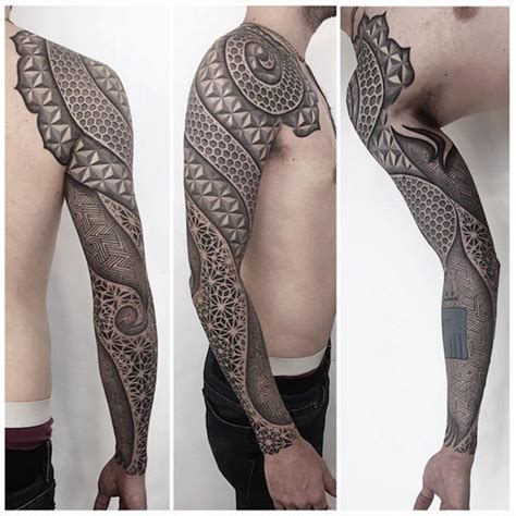 geometric tattoo sleeve 330 best images about geometric on