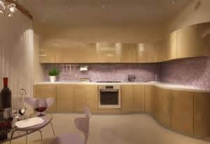 Modern Kitchen Cabinet Colors Purple Kitchen Cabinets Modern Kitchen Color Schemes
