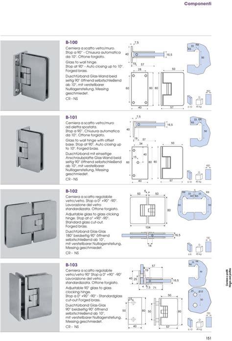 cerniere box doccia cerniere box doccia vetro cristallo vasca idromassaggio